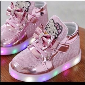 Other - New hello kitty led shoes